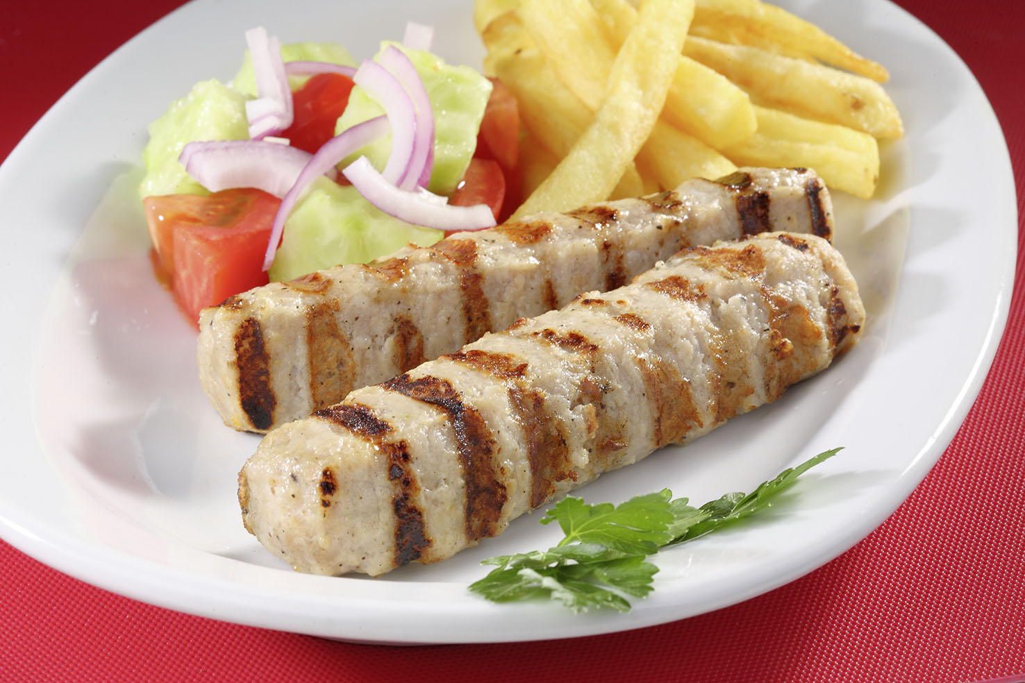 Chicken oblong rissole 70g