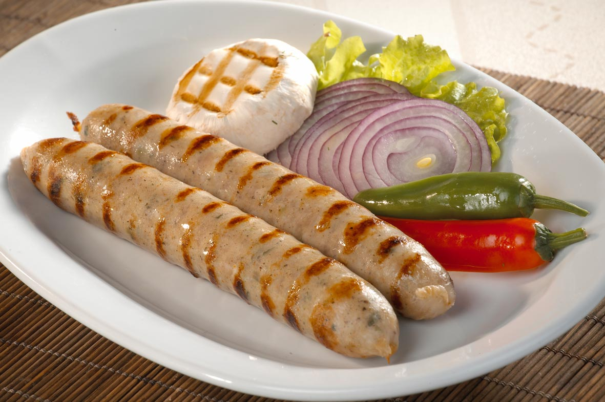 Haiduk sausage with leek