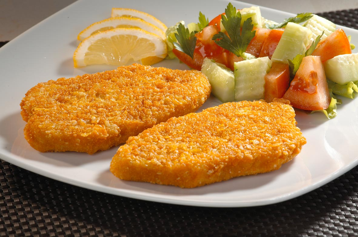 Whole chicken breast meat cutlet 100g
