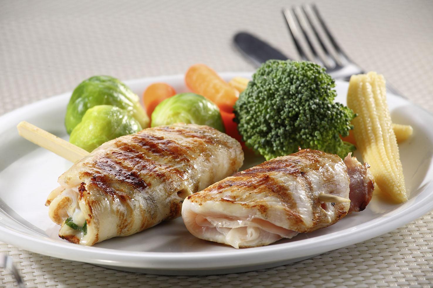 Roman chicken roll