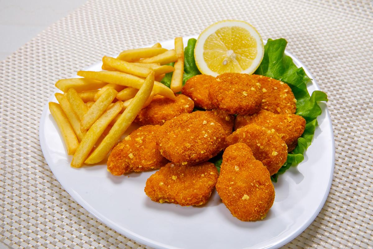 Пилешки хапки от бяло месо