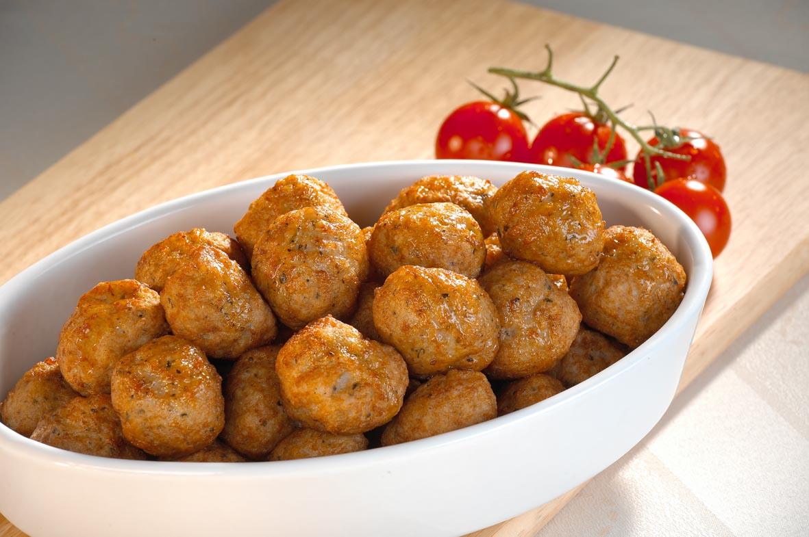 Moms meatballs for frying