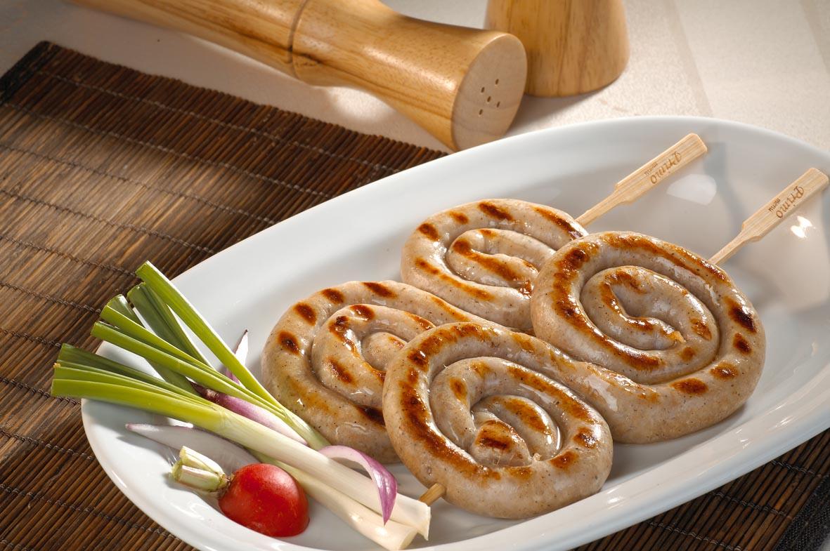 Skewered chicken sausage 200g